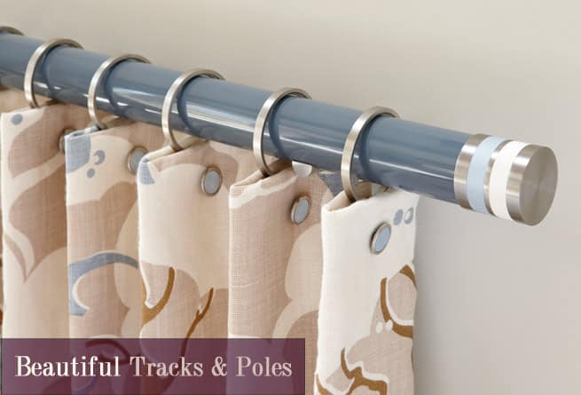 tracks and poles made to measure